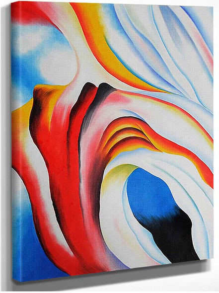 Music Pink And Blue Ii By Georgia O Keeffe