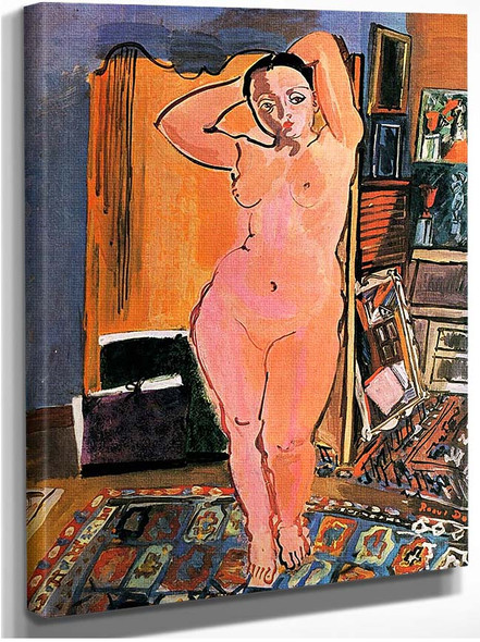 Naked 1928 By Dufy Raoul