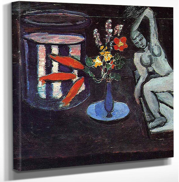 Fish Tank In The Room 1912 By Henri Matisse Art Reproduction from Wanford.