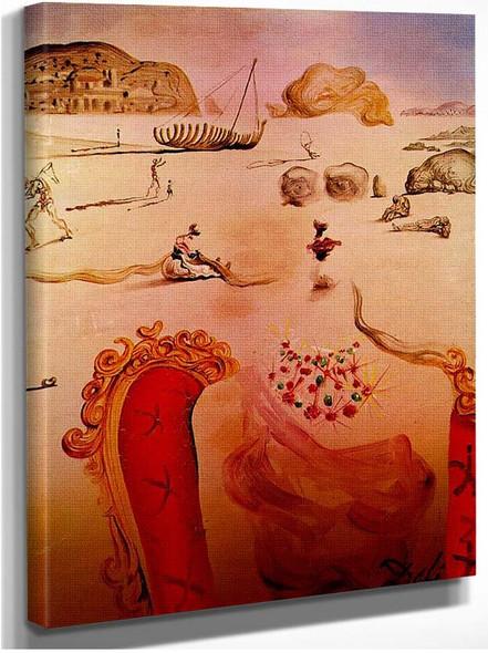 Paranoia Surrealist Figures By Salvador Dali