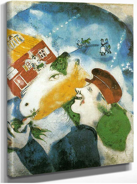 Peasant Life 1925 By Marc Chagall