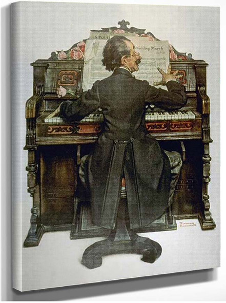 Piano By Norman Rockwell