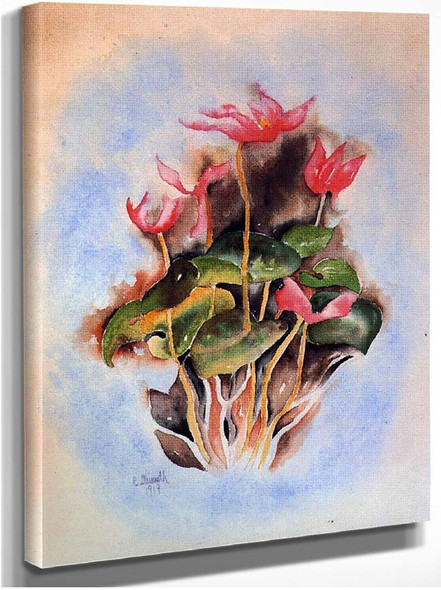 Pink Cyclamen By Charles Demuth