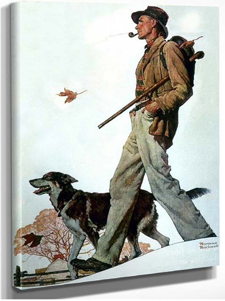 Pipe By Norman Rockwell