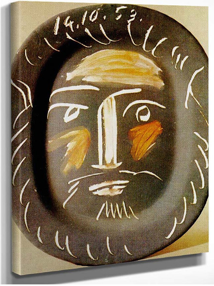 Plat Ovale 1953 By Pablo Picasso