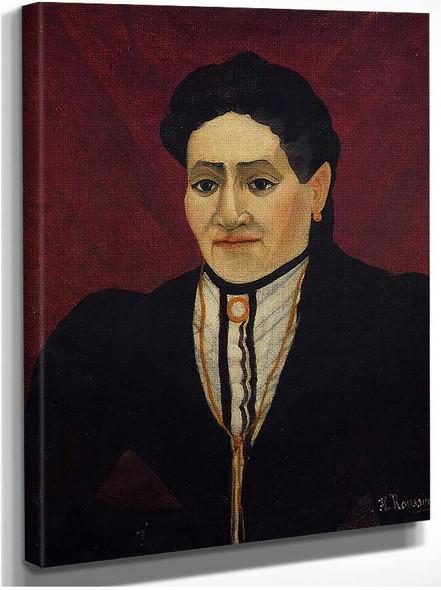 Portrait Of A Woman 1905 By Henri Rousseau