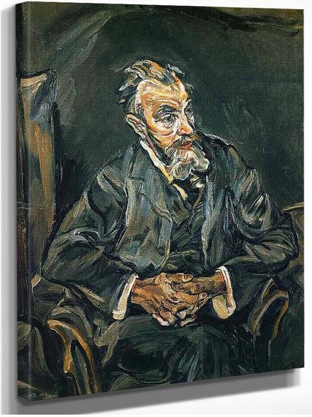 Portrait Of Carl Moll By Oskar Kokoschka