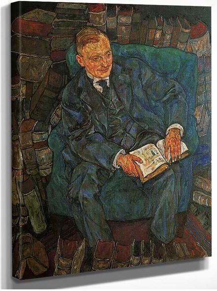 Portrait Of Dr Hugo Koller 1918 By Egon Schiele
