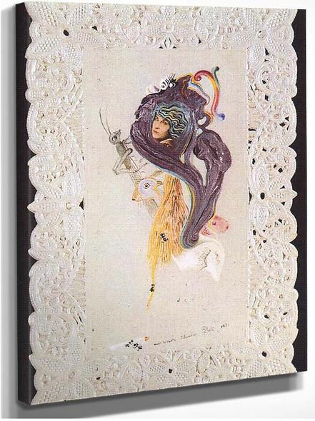 Portrait Of Gala By Salvador Dali