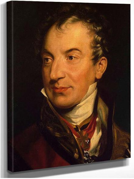 Portrait Of Klemens Wenzel Von Metternich By Lawrence Sir Thomas