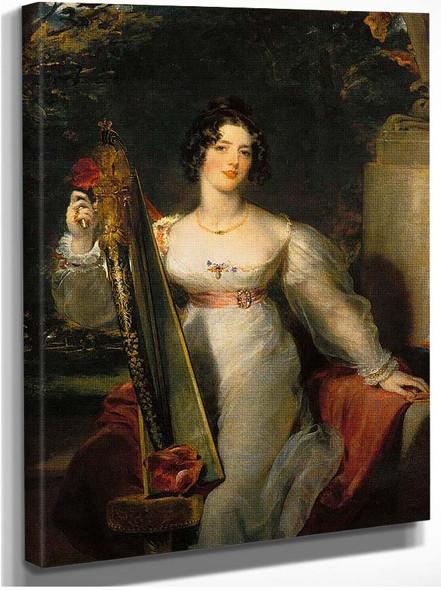 Portrait Of Lady Elizabeth Conyngham By Lawrence Sir Thomas
