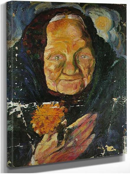 Portrait Of Lucia By Salvador Dali