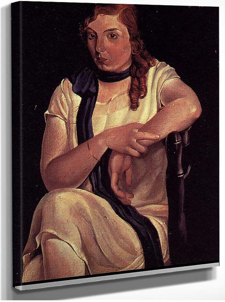 Portrait Of Maria Carbona By Salvador Dali