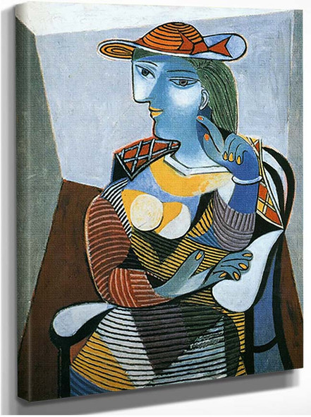 Portrait Of Marie Therese Walter By Pablo Picasso