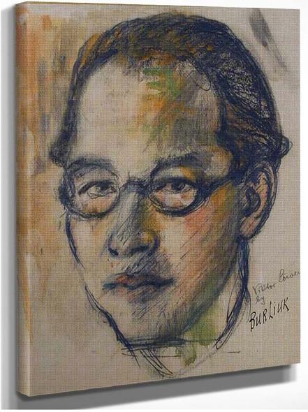 Portrait By Ernst Ludwig Kirchner