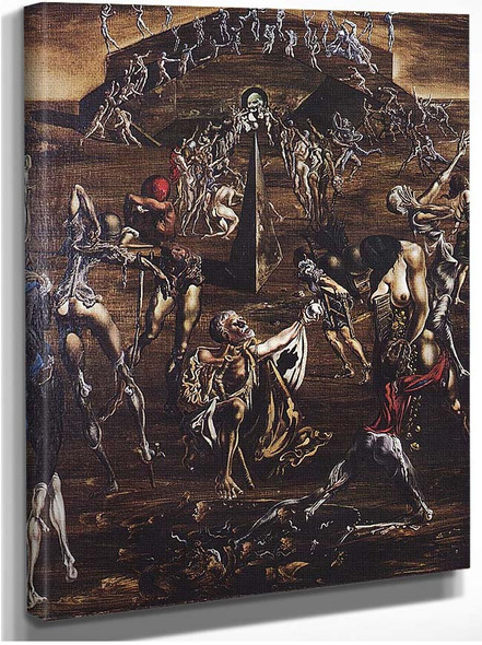 Resurrection Of The Flesh By Salvador Dali