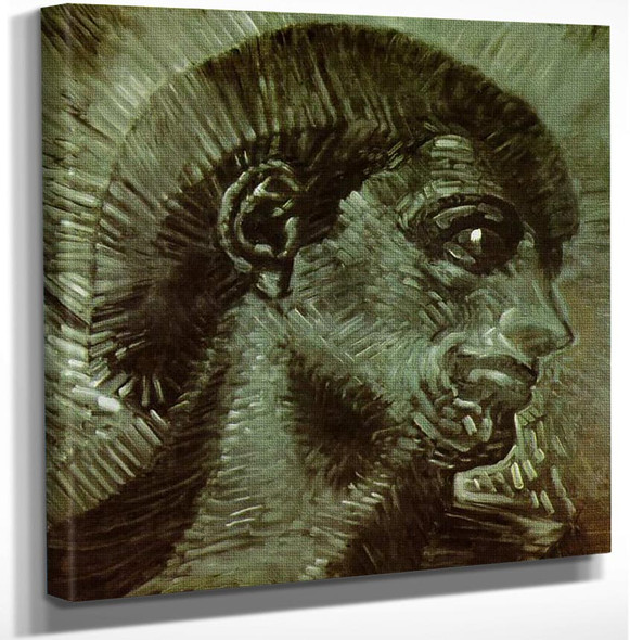Head Inspired By Michelangelo By Salvador Dali Art Reproduction from Wanford.