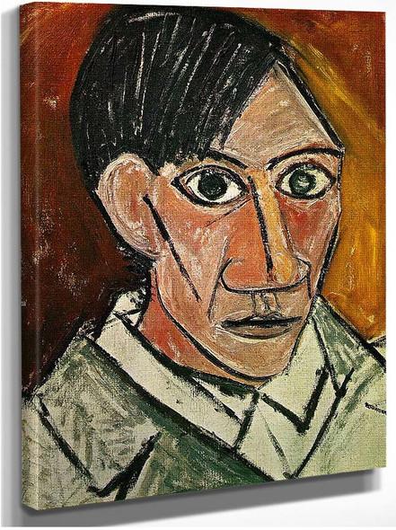 Self Portrait 1907 By Pablo Picasso