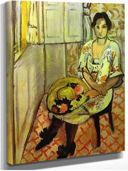 Sitting Woman 1919 By Henri Matisse