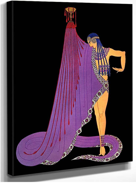 Slave Of Salome George Whites Scandals By Erte
