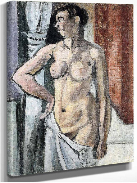 Standing Nude By Henri Matisse