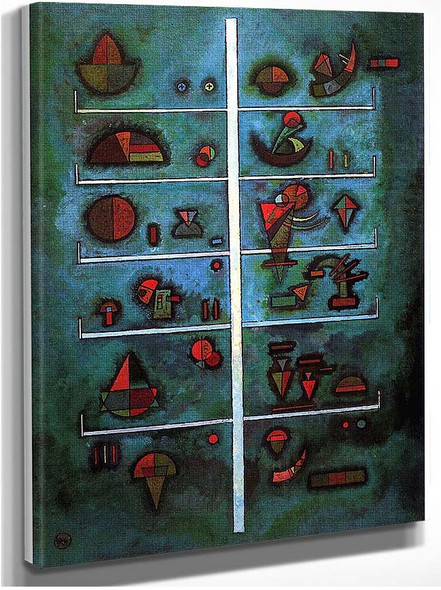 Storeys 1929 By Wassily Kandinsky