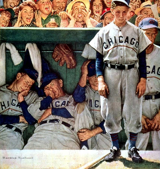Jeers From Crowd By Norman Rockwell Art Reproduction from Wanford.