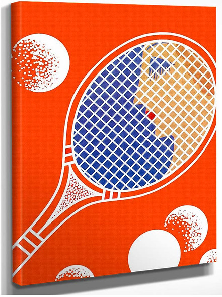 Tennis By Erte