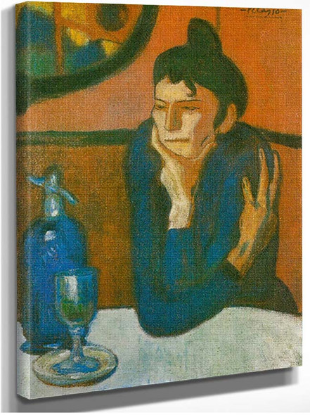 The Absinthe Drinker By Pablo Picasso