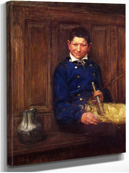 The Bagpipe Player By Henry Ossawa Tanner
