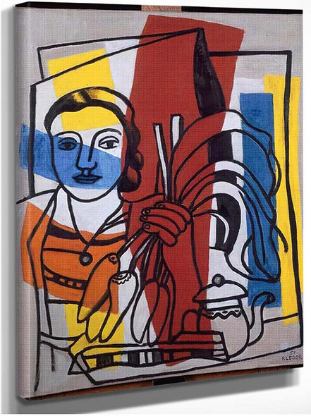The Bunch Of Turnips 1951 By Fernand Leger