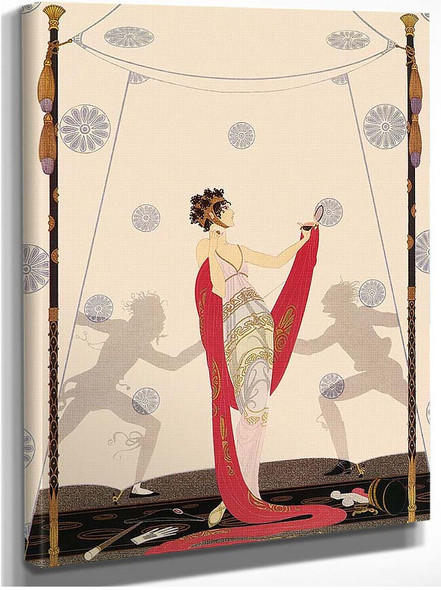 The Duel By Erte