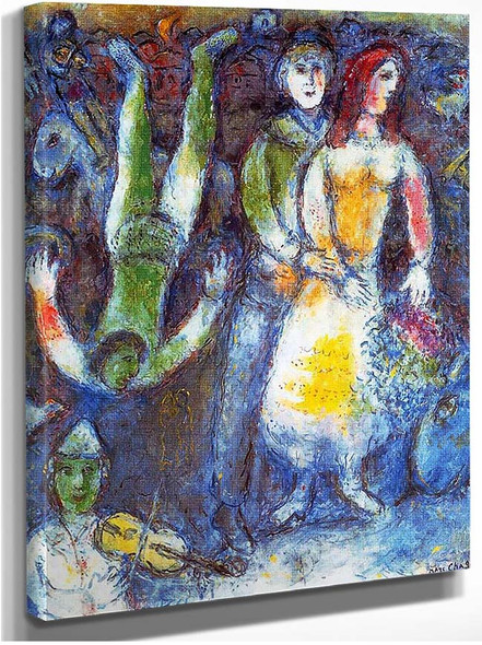 The Flying Clown 1981 By Marc Chagall