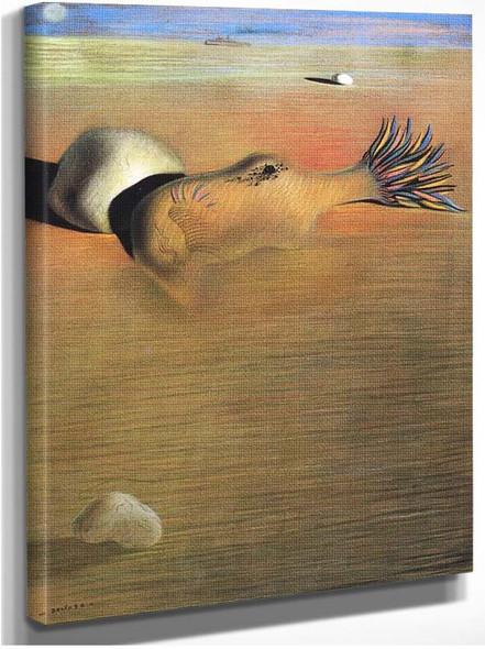 The Great Masturbator By Salvador Dali