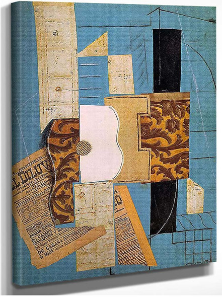 The Guitar 1913 By Pablo Picasso