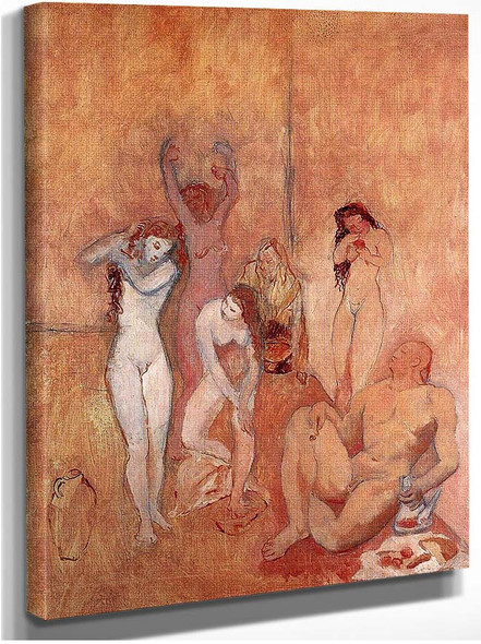 The Harem 1906 By Pablo Picasso