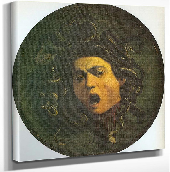Medusa by Caravaggio Art Reproduction from Wanford.