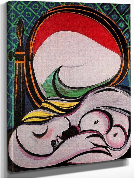 The Mirror 1932 By Pablo Picasso