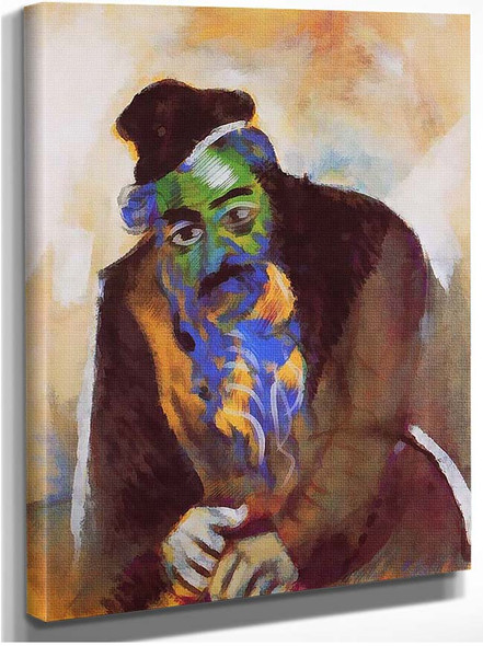 The Old Jew 1912 By Marc Chagall