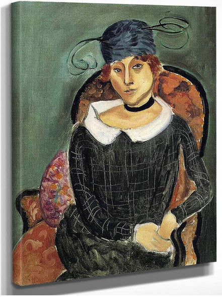 The Ostrich Feather Hat By Henri Matisse