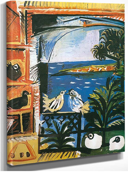 The Pigeons By Pablo Picasso