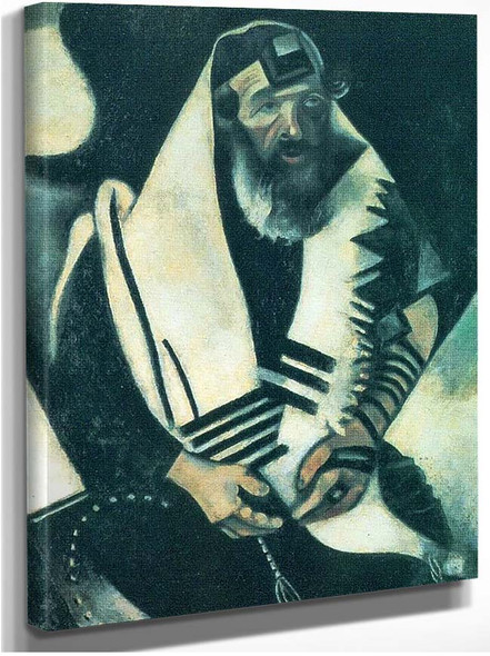 The Praying Jew By Marc Chagall