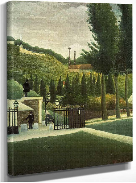 The Toll House 1890 By Henri Rousseau