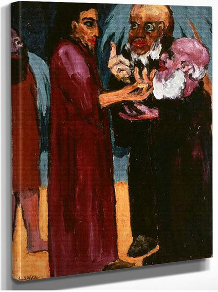 The Tribute Money 1915 By Emil Nolde