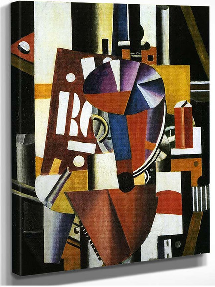 The Typographer 1919 By Fernand Leger