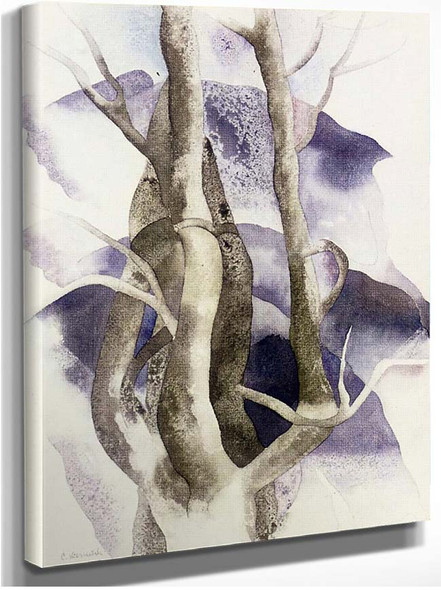 Tree Forms By Charles Demuth
