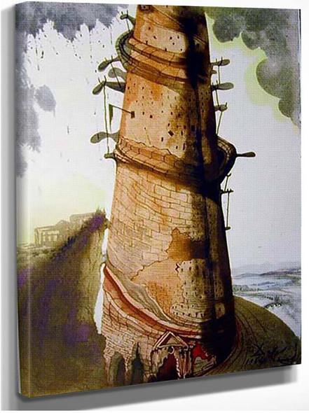 Turris Babel 1967 By Salvador Dali