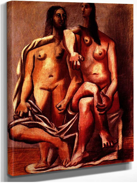 Two Bathers 1920 By Pablo Picasso