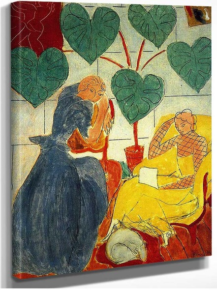 Two Women 1939 By Henri Matisse