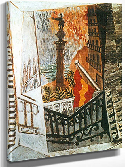 View Of Columbus Memorial By Pablo Picasso